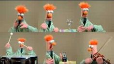 Ode To Joy - Nga Muppets mid delight and Beaker. Why, Beaker why? Oh, Beaker! Music Stuff, My Music, Music Notes, Ode An Die Freude, Ode To Joy, Fraggle Rock, The Muppet Show, School Videos, Movies