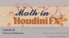 Frame of Reference _ Math in Houdini FX VOL 2 _ Matrix from Hossam Aldin Alaliwi  #SideFX #Houdini #tutorial #tut #learning #VFX #FX #3d #CG #visual #effects