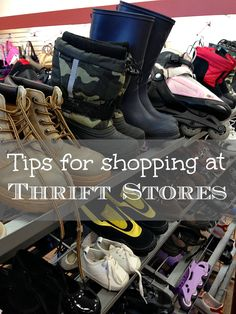 Tips for shopping at thrift stores & how to find the BEST stuff there!!