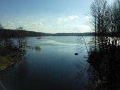 Jezioro Mosąg, lub inaczej rozlewisko Łyny #Dywity #Brąswałd #Barkweda #Warmia
