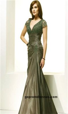 Mother of the Bride Dresses - like this one, deep eggplant maybe? shorter length.?