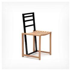 """disenodelmueble: """"styletaboo: """" Pierre Gonalons - Scale chair for Ascete """" Cuando en una silla el diseño lo hace el contraste. Metodo infalible para sorprender """""""