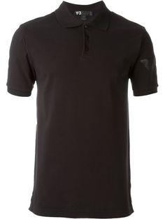 Y-3 Logo Polo Shirt. #y-3 #cloth #shirt