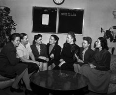 In this picture:  Commission on Status of Women Hears Representatives of Non-Governmental Organizations: Photo Date: January 15th, 1948 Photo credit: UN Photo