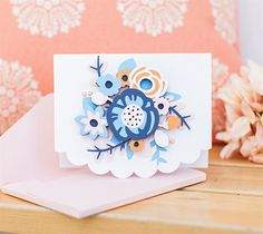 Dimensional Flower Card