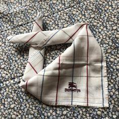 Vintage Burberrys Neckerchief Pocket Square Designer Mens | Etsy Cushion Inserts, Cushion Covers, Pillow Inserts, Pillow Covers, Vintage Handkerchiefs, Neckerchiefs, Logo Sticker, Well Dressed Men, Vintage Textiles
