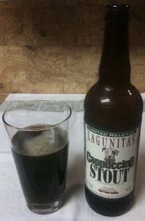 Cappuccino Stout from Lagunitas Brewing Company