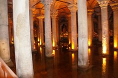 Cisterna de Yerebatan - Istambul - Viagem com Sabor