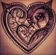 Resultado de imagem para tatuagens coração alado