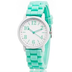 Candy Color Silicone Watch