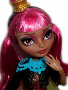☠ OOAK custom Ever After High doll repaint Ginger Breadhouse bjd monster ☠ #EverAfterHigh