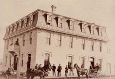 Grand View Hotel, Brandon, Manitoba, August 10, 1891 (Source: Magnacca Research Centre, Daly House Museum)