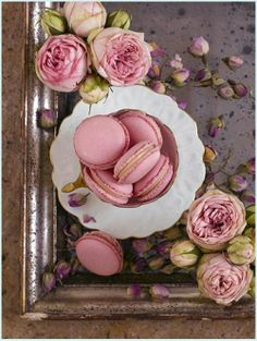 The Rose Garden #macarons #teatime #sweet delight