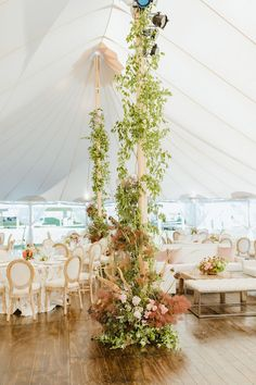 To guarantee a seamless tented wedding from ceremony to reception, we've consulted industry experts who know a thing or two about hosting a covered bash outdoors. Make sure you consider these tips before pitching a wedding tent of your own. Plum Wedding, Floral Wedding, Gothic Wedding, Glamorous Wedding, Summer Wedding, Wedding Flowers, Dream Wedding, Outdoor Tent Wedding, Outdoor Weddings
