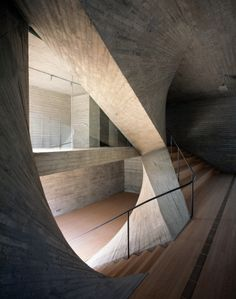 Archi-Union Architects shape Shanghai's Fu Space with curved concrete planes - News - Frameweb