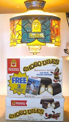1970s Hostess Choco-Diles Display