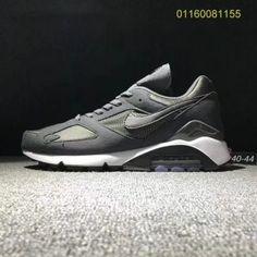 huge discount ddabb c27a3 Mens Shoes Sport swear Nike Air Max 180 Wolf Grey Black White New Nike Air,