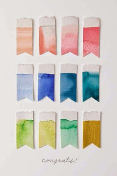 Watercolor pallet