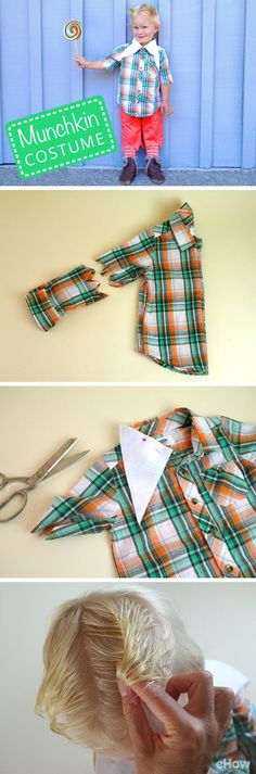 The lollipop guild is making a come back! Recreate this adorable munchkin costume from the Wizard of Oz for cheap! http://www.ehow.com/how_6391582_make-wizard-oz-munchkin-costumes.html?utm_source=pinterest.com&utm_medium=referral&utm_content=freestyle&utm_campaign=fanpage