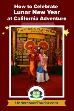 Guide to Lunar New Year at Disney California Adventure - By Undercover Tourist. #lunarnewyear #disneycaliforniaadventure #disney