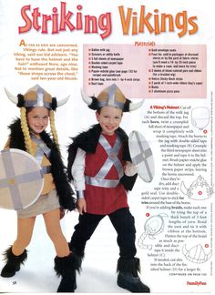 Halloween Costume: Vikings | AllTogetherChanin
