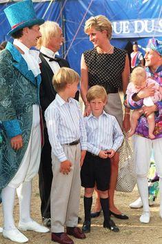 Princess Diana, Prince William & Prince Harry