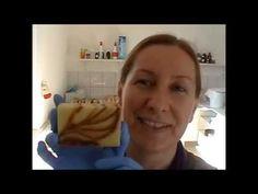 Naturhalma olívás narancsos fahéj szappan hideg eljárással - YouTube