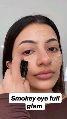 Face Makeup Tips, Eye Makeup Steps, Beauty Makeup Tips, Contour Makeup, Makeup Goals, Skin Makeup, Edgy Makeup, Simple Makeup, Natural Makeup