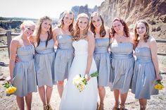 #weddingphotography #smithrock grey and yellow