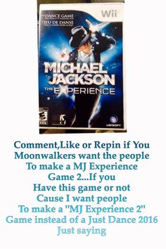 """Please People Make A """"MJ experience 2"""" with more Song like from the Dangerous,History,Invincible and other MJ albums/w songs !!!!! My Edit :)"""