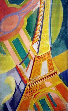 Robert Delaunay, Tour Eiffel, 1926