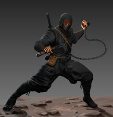 Arte Ninja, Ninja Art, Fantasy Warrior, Fantasy Art, Ninja Japan, Samurai Artwork, Shadow People, Shuriken, Shadow Warrior