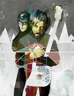 Cool Illustrations by Erik Jones