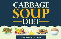 Diet Plans Cabbage Soup Diet - The Effective Cabbage Soup Diet Plan - Checking out diet plans to lose weight quickly? The cabbage soup diet is exactly what you need. Dieters have reported losing a whopping 10 pounds in just 7 days! Soup Diet Plan, Detox Diet Plan, Cleanse Diet, Stomach Cleanse, Weight Loss Soup, Weight Loss Detox, Lose Weight, Cabbage Diet, Cabbage Steaks