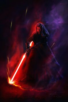 Darth Maul by Lotsmanoff