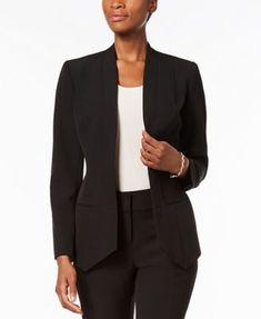 Ss17 Women's Clothing Confident Womens Gray Jacket Blazer = Isaac Mizrahi = Size 6 = New