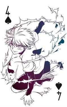 Killua Club 4 on pixlr by 之之 (Do not reprint or sell) Otaku Anime, Manga Anime, Anime Demon, Manga Art, Anime Art, Killua, Hisoka, Hunter X Hunter, Hunter Anime