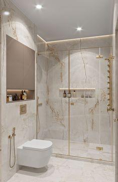 Washroom Design, Bathroom Design Luxury, Bathroom Layout, Modern Bathroom Design, Small Bathroom, Modern Luxury Bathroom, Gold Bathroom, Bathroom Ideas, Small Elegant Bathroom