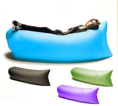 NEW FAST INFLATABLE SOFA AIR BED LOUNGER CHAIR SLEEPING BAG MATTRESS SEAT COUCH   eBay