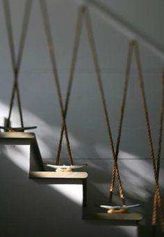Estúdio Lorena Couto se inspira em: guarda corpo de corda