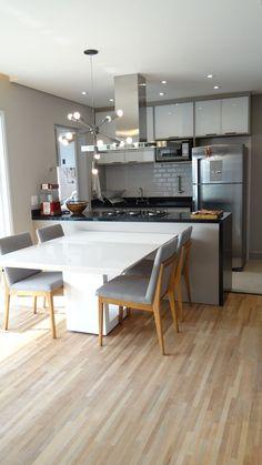 Kitchen Room Design, Home Room Design, Modern Kitchen Design, Kitchen Layout, Home Decor Kitchen, Interior Design Kitchen, Home Kitchens, Kitchen Ideas, Small Modern Kitchens