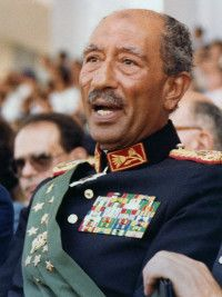 Anwar Sadat, Leader of Egpyt during wake of Arab-Israeli Conflict President Of Egypt, Cairo Egypt, Conceptual Art, Egyptian, Famous People, Presidents, How Are You Feeling, Extra Credit, Military