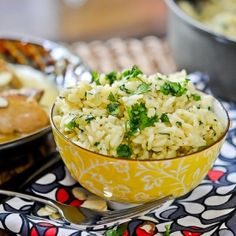 A versatile Pioneer Woman rice side dish that pops with fresh lime, garlic and cilantro flavor.