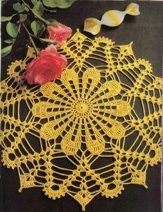 Magic Crochet Nº 71 - claudia - Picasa Web Albums Crochet Home, Crochet Crafts, Crochet Yarn, Crochet Stitches, Crochet Motif Patterns, Lace Patterns, Polish Embroidery, Crochet Dollies, Crochet Bracelet