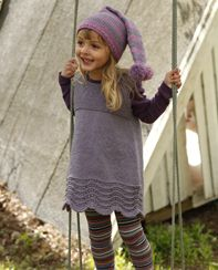 drops girls lace dress - so making this!