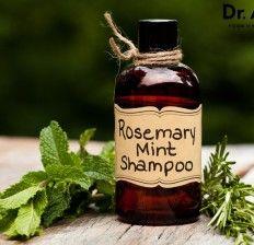 Homemade Rosemary Mint Shampoo