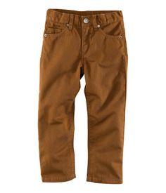 Brown Beige Pants - H Kids