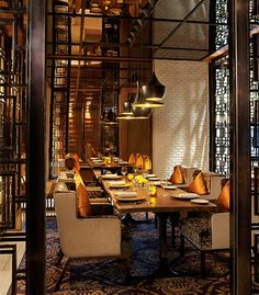Saffron Private Dining Room