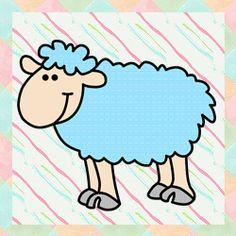 Patchwork moldes ovelha para patch aplique