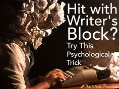 Yesterday, a young writer I'm mentoring told me she's never hated writing so much. Writer's block is threatening to stop her from writing her book for good.